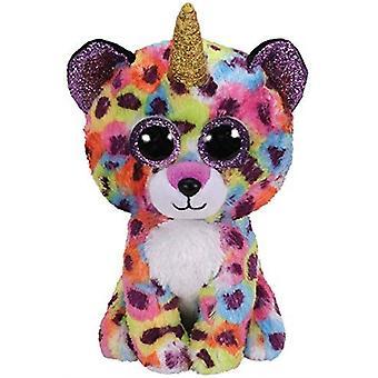 Ty-mössa Boos-Giselle Leopard med horn Toy