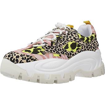 Liu-jo Sport / Wave Schoenen 01 - Sneaker Blac Kleur Blkyellow