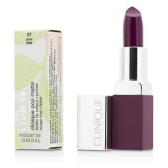 Pop Matte Lip Colour + Primer - # 07 Pow Pop 3.9g/0.13oz