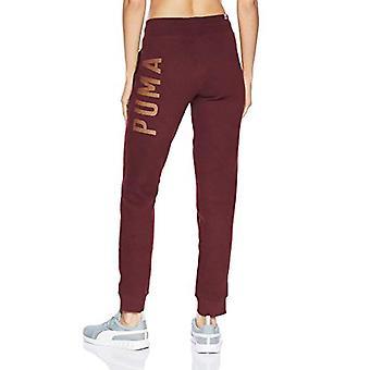 PUMA Women's Athletic Pants, fig/BronzeMedal, XXL