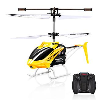 Syma W25 Falcon Mini RC Drone Helicopter Toy Gyro Lights Yellow