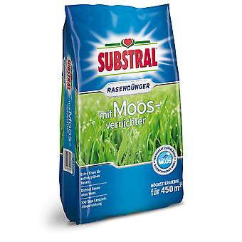 SUBSTRAL® lawn fertilizer with moss destroyer, 9 kg
