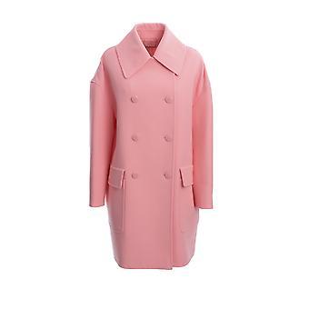 Givenchy Bwc06j127y664 Manteau de coton rose
