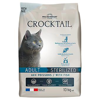Flatazor Feed for Cats Crocktail Adult Sterilized Fish (Cats , Cat Food , Dry Food)