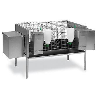 Gaun Rabbits cage model Europa 2 Nests (Small pets , Cages and Parks)