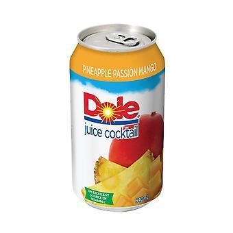 Dole Pineapple Peach Mango-( 340 Ml X 12 Cans )