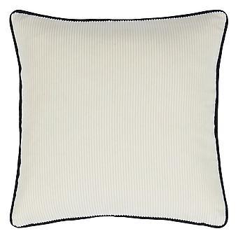 Designers Guild Corda Cushion In Chalk White