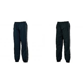 Tombo Teamsport Mens Piped Lined Sports Training Pants / Tracksuit Bottoms