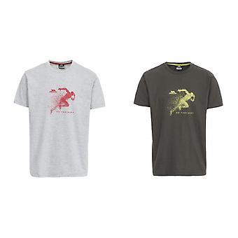 Hausfriedensbruch Mens Lyons leger Kurzarm T-Shirt