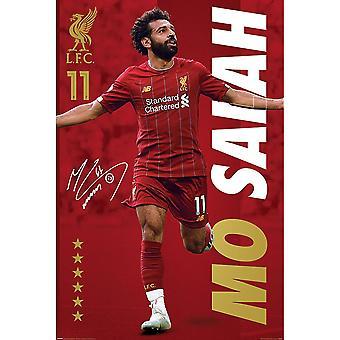 Liverpool FC Salah plakat