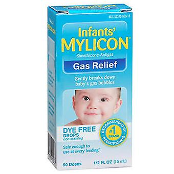 Mylicon infants gas relier drops, dye free, 0.5 oz