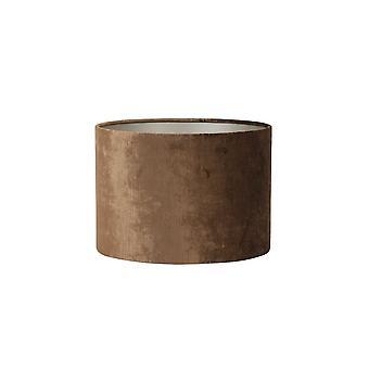 Luz y vida cilindro sombra 25x25x18cm GEMSTONE marrón