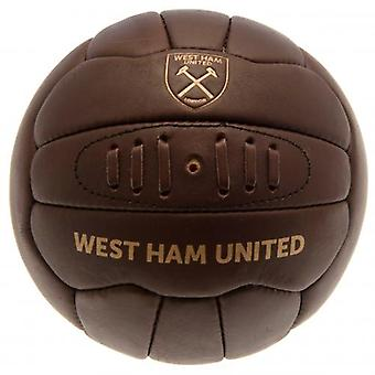 West Ham United Retro-Erbe-Fußball