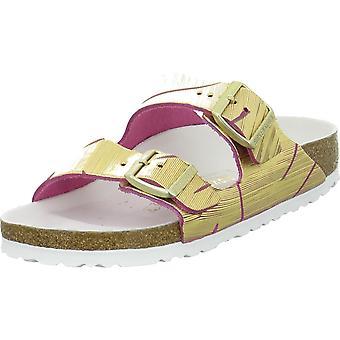 Birkenstock Arizona Rivet Logo 1012946METALLICMAGENTA universal summer women shoes