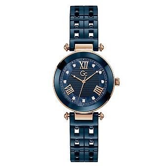 GC Y66005L7MF Women's Primechic Blue Ceramic Wristwatch