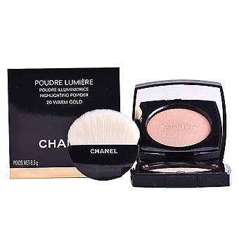 Chanel Poudre Lumière #20-mornos ouro 8,5 Gr para as mulheres