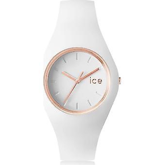 Ice Watch Wristwatch Unisex ICE glam White Rose-Gold Medium 000978