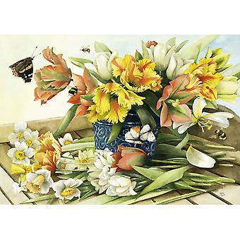 Schmidt Marjolein Bastin: Spring Blossoms Jigsaw Puzzle (1000 pezzi)