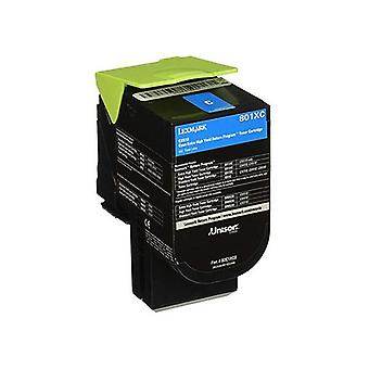 Lexmark C236Hc0 Cyan High Yield Return Program Toner 2300