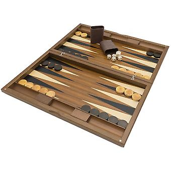 De Dal Negro Oxford Deluxe Backgammon Set