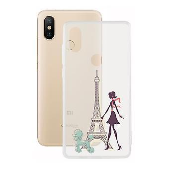 Mobile cover Xiaomi Mi A2 Contact Flex France TPU