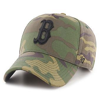47 Brand Afslappet Fit Cap - GROVE Boston Red Sox træ camo
