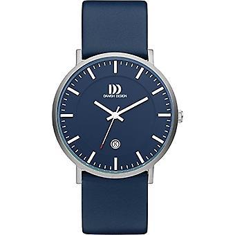 Danish Designs DZ120536-wrist watch, Man, skin, colour: Blue