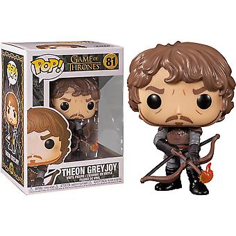Game of Thrones Theon kanssa Flaming Nuolet Pop! Vinyyli