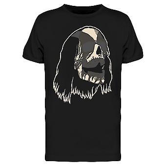 Black Metal Skull Tee Men's -Kuva Shutterstock