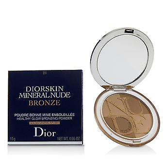 Diorskin minerální nahý nahý zdravý lesk bronzování prášek # 04 teplý východ slunce 227941 10g/0.35oz