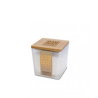Heart & Home Bamboo & Ginger Lily 96g Jar Candle