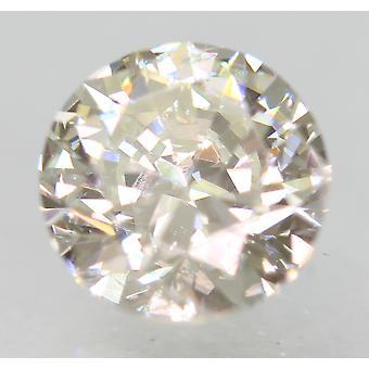 認定 0.91 カラット G VVS2 ラウンド ブリリアント エンハンスナチュラルルーズ ダイヤモンド 6.05m