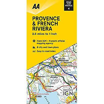 Road Map Provence & French Riviera - 9780749582111 Book