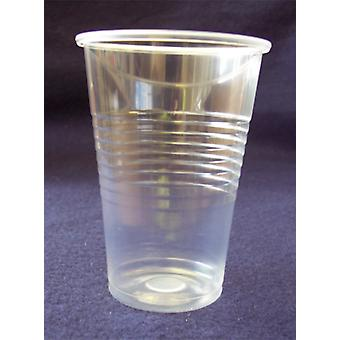 Robinson Young 7oz Clear Plastic Disposable Tumblers Cups