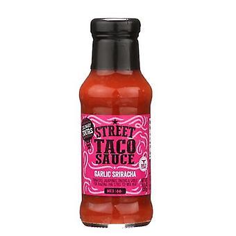 Kulinárske Zájazdy ulica Taco omáčka cesnak Sriracha