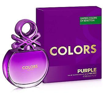 Benetton Colors For Her Purple Eau De Toilette For Her