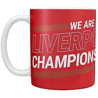 Liverpool League Champions 19-20 Mug