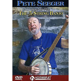 How to Play the 5-String Banjo [DVD] USA import