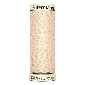 Gutermann Naai-alle 100% polyester draad 100m hand en machine kleurcode - 5