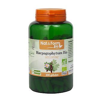 Organic Harpagophytum 200 vegetable capsules