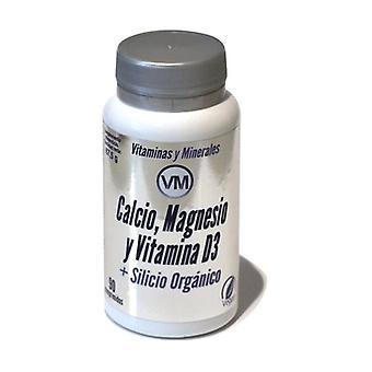 Calcium, Magnesium and Vitamin D3 + Organic Silicon 90 tablets