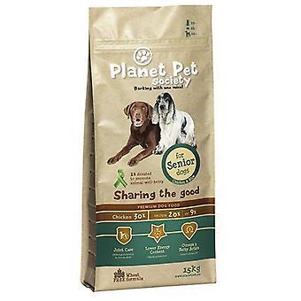 Planet Pet Pienso para Perros Senior de Pollo (Dogs , Dog Food , Dry Food)