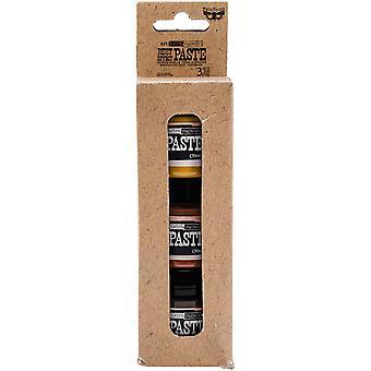 Finnabair Art Extravagence Rust Effect Pasta 50ml Burkar 3/Pkg - 3 färger