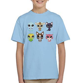 Littlest Pet Shop Pets Kid's T-Shirt