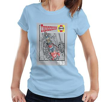 Thunderbirds TB3 Technical Manual Women's T-Shirt