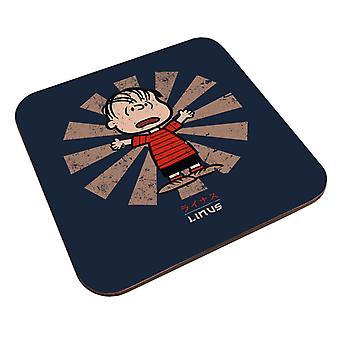 Linus Van Pelt Rétro japonais Peanuts Coaster