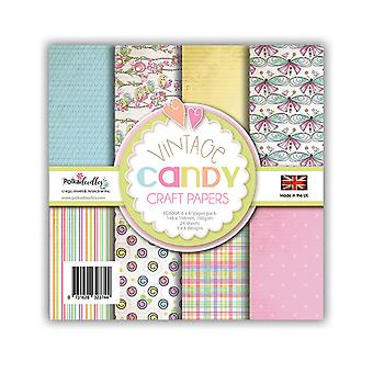 Polkadoodles Vintage Candy 6x6 Inch Paper Pack