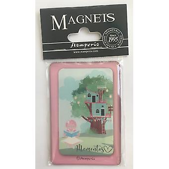 Stamperia Mi Primera Ilusiàn Niàa 8x5.5cm Magnete