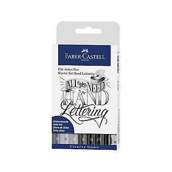 Faber Castell Piirustus kynä Pitt Taiteilija Set Handlettering Basic (8kpl) (FC-267118)