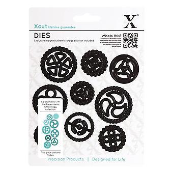 Xcut Dies (9pcs) - Chronology - Cogs (XCU 503151)